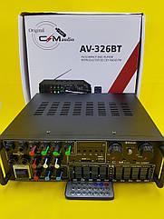 Качественный Усилитель звука UKC AV-326BT Bluetooth (5-ти полосный органайзер)