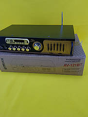 Качественный Усилитель звука UKC AV-121BT с Bluetooth