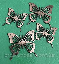 Набір Метеликів з ламінованого картону для декору