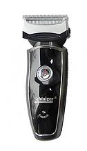 Сеточная аккумуляторная электробритва влагостойкая Schtaiger 4306-SHG