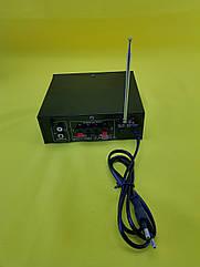 Качественный Усилитель звука  BM AUDIO BM-606BT FM USB