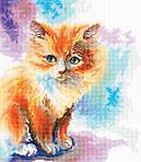 Набор для вышивки крестом RTO M827 «Солнечный котенок»