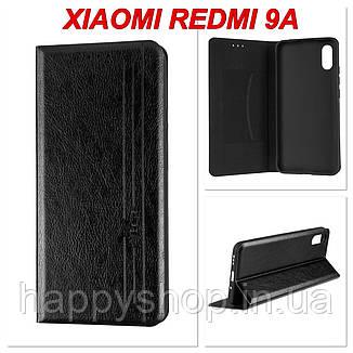 Чехол-книжка Gelius Leather New для Xiaomi Redmi 9A (Черный), фото 2