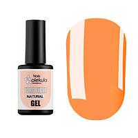 Molekula Euro Fiber Gel Natural - гель для укрепления ногтевой пластины, камуфлирующий, 12 мл