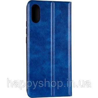 Чехол-книжка Gelius Leather New для Xiaomi Redmi 9A (Синий), фото 2