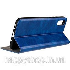 Чехол-книжка Gelius Leather New для Xiaomi Redmi 9A (Синий), фото 3