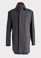 Пальто чоловіче класичне сірого кольору ValeboNa 52