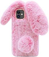 Панель чехол для Apple iPhone 12 Pro Max Alitek Зайчик Pink