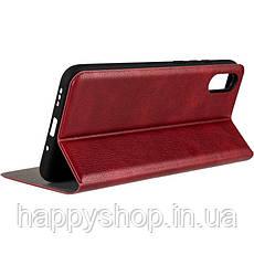 Чехол-книжка Gelius Leather New для Xiaomi Redmi 9A (Красный), фото 3