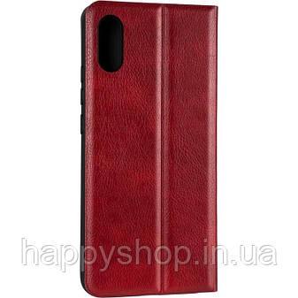 Чехол-книжка Gelius Leather New для Xiaomi Redmi 9A (Красный), фото 2