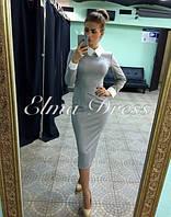 """Платье женское с воротником """"Тайра"""""""