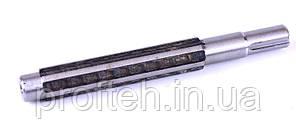 Вал привода переходного редуктора (L-203 мм, Z-6, 12-е колесо)