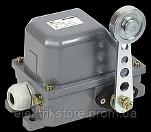 КУ-701 У1, рычаг с роликом, 10А, IP44, 2 эл. цепи IEK