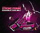 Пояс для пауэрлифтинга Power System PS-3850 Strong Femme Black/Pink S, фото 8