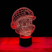 "3D ночник""Марио"" 3DTOYSLAMP"