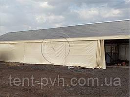 ПВХ штора тентовая стена перегородка 4,0*10,0 м