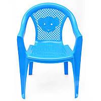 """Детский стульчик KinderWay """"Тигренок"""" голубой, (25-031)"""