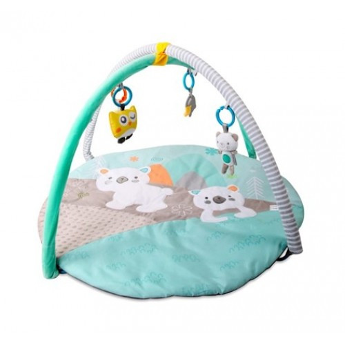 Ігровий розвиваючий килимок Sun Baby Білий Ведмедик B05.042.1.1