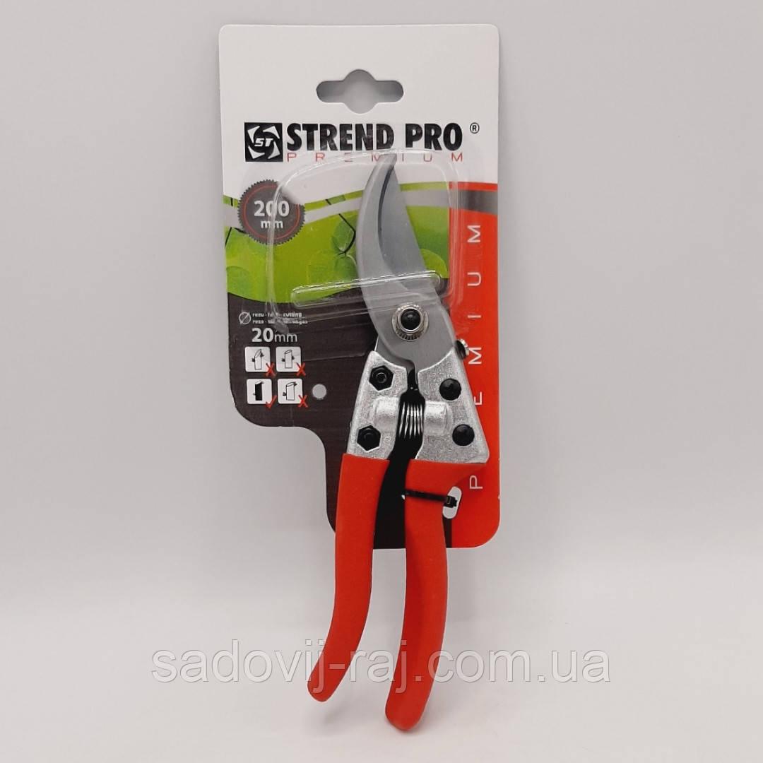 Секатор Strend Pro Premium / Стенд Про Преміум 200мм Косий зріз 20мм (77-777)