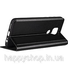 Чехол-книжка Gelius Leather New для Xiaomi Redmi Note 9 (Черный), фото 3