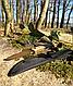 Ніж армійський не складаний 440 G10 з чохлом колір койот (Mil-Tec) Німеччина, фото 7