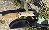 Ніж армійський не складаний 440 G10 з чохлом колір койот (Mil-Tec) Німеччина, фото 6