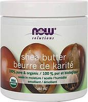 Масло ши нау фудс Now Foods Shea Butter 207 ml