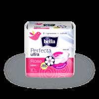 Прокладки женские гигиенические  Bella Perfecta Rose deo fresh drai  Ultra 10 шт.