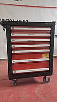 Тележка для мастерской с инструментами из хромованадиевой стали Holzmann WW 790W, фото 2