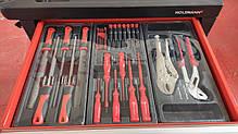 Тележка для мастерской с инструментами из хромованадиевой стали Holzmann WW 790W, фото 3