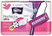 Прокладки женские гигиенические  Bella Perfecta Rose deo fresh drai  Ultra 20 шт.