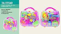 """Доктор """"Айболит"""" цвет микс, 15 предметов, в чемоданчике 20*18см /96-2/ (3A-055AB)"""