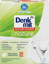 Таблетки для посудомоечных машин DENKMIT DENKMIT Geschirr-Reiniger nature, 30 шт