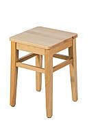 Табурет деревянный кухонный с твердым или мягким сиденьем. Скандинавский стиль. Эмаль.310х310х430. МГ-130е