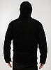 Куртка ESDY флисовая Черная, фото 2