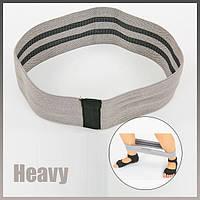Тканевая фитнес резинка сопротивления. Лента эспандер для фитнесса для ног. лента сопротивления