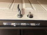 Двери входные металлические Магда Уличные 4 венге горизонт серый 141, фото 4