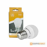 Світлодіодна ЛІД E27 лампа, 220V 7W ЛІД 3000К