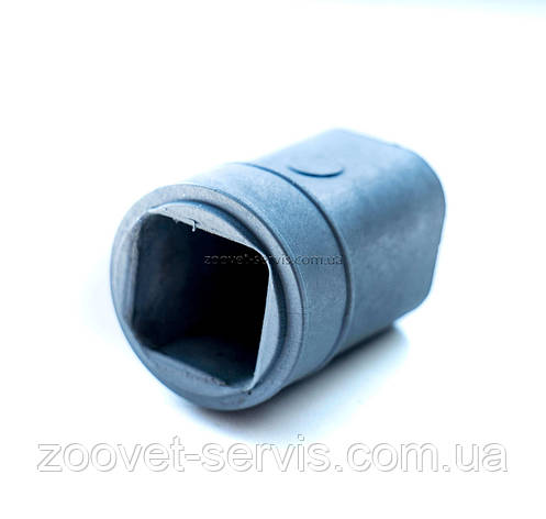 Муфта заглушка на квадратную трубу модель-1, фото 2