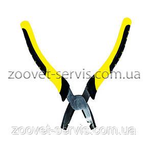 Плоскогубцы скобообжимные (желтые), фото 2