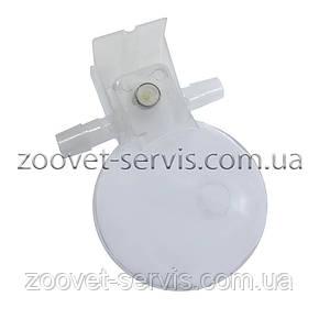 Микрочашечная поилка круглая с 2-мя патрубками, фото 2