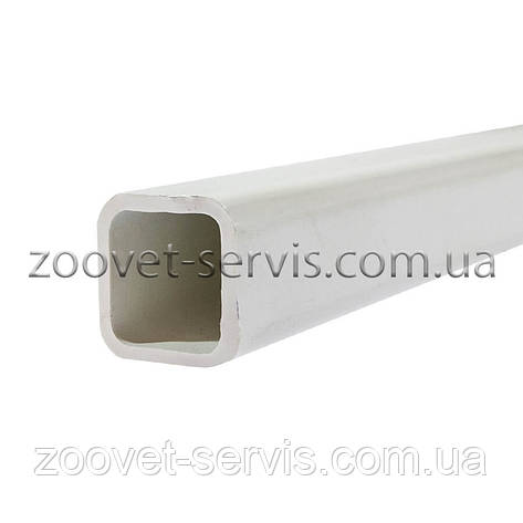 Труба ПВХ квадратная для ниппельного поения 22×22мм (ТР-14), фото 2