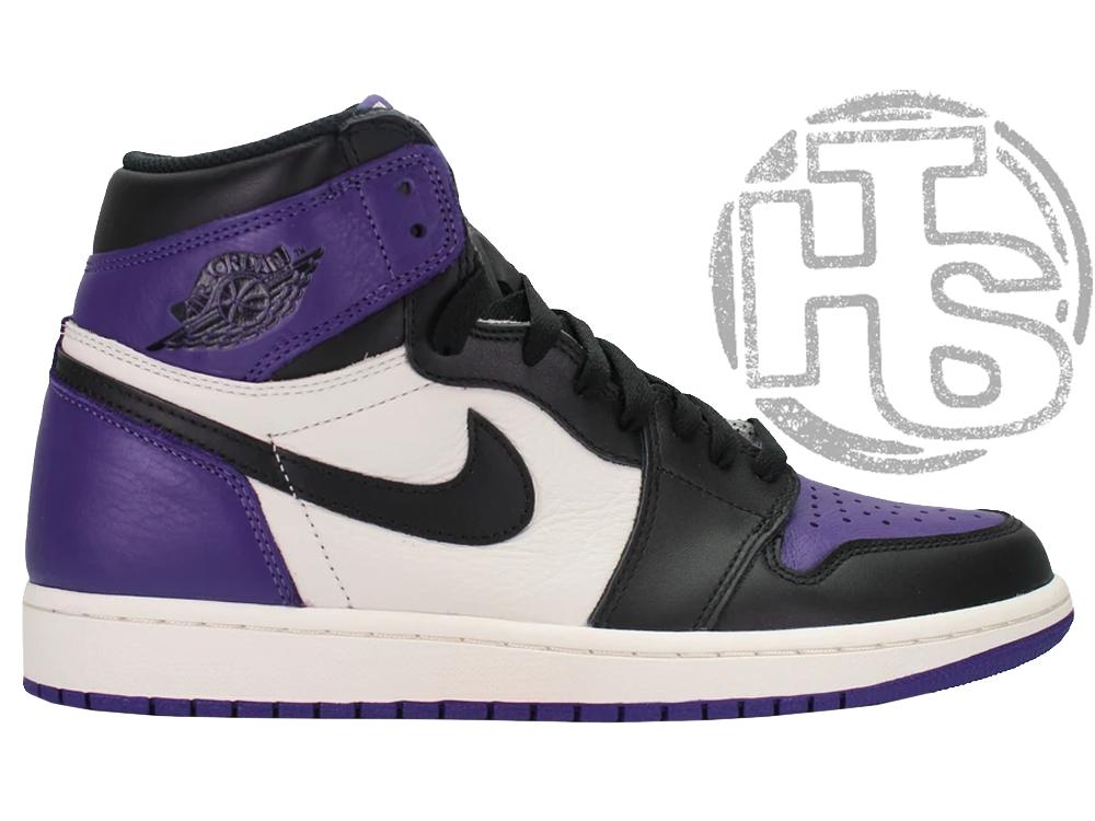 Женские кроссовки Air Jordan 1 Retro High Court Purple 555088-501