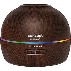 Увлажнитель 2 в 1 Concept с диффузором аромата ZV1005 ИДЕАЛЬНЫЙ ВОЗДУХ цвет орех