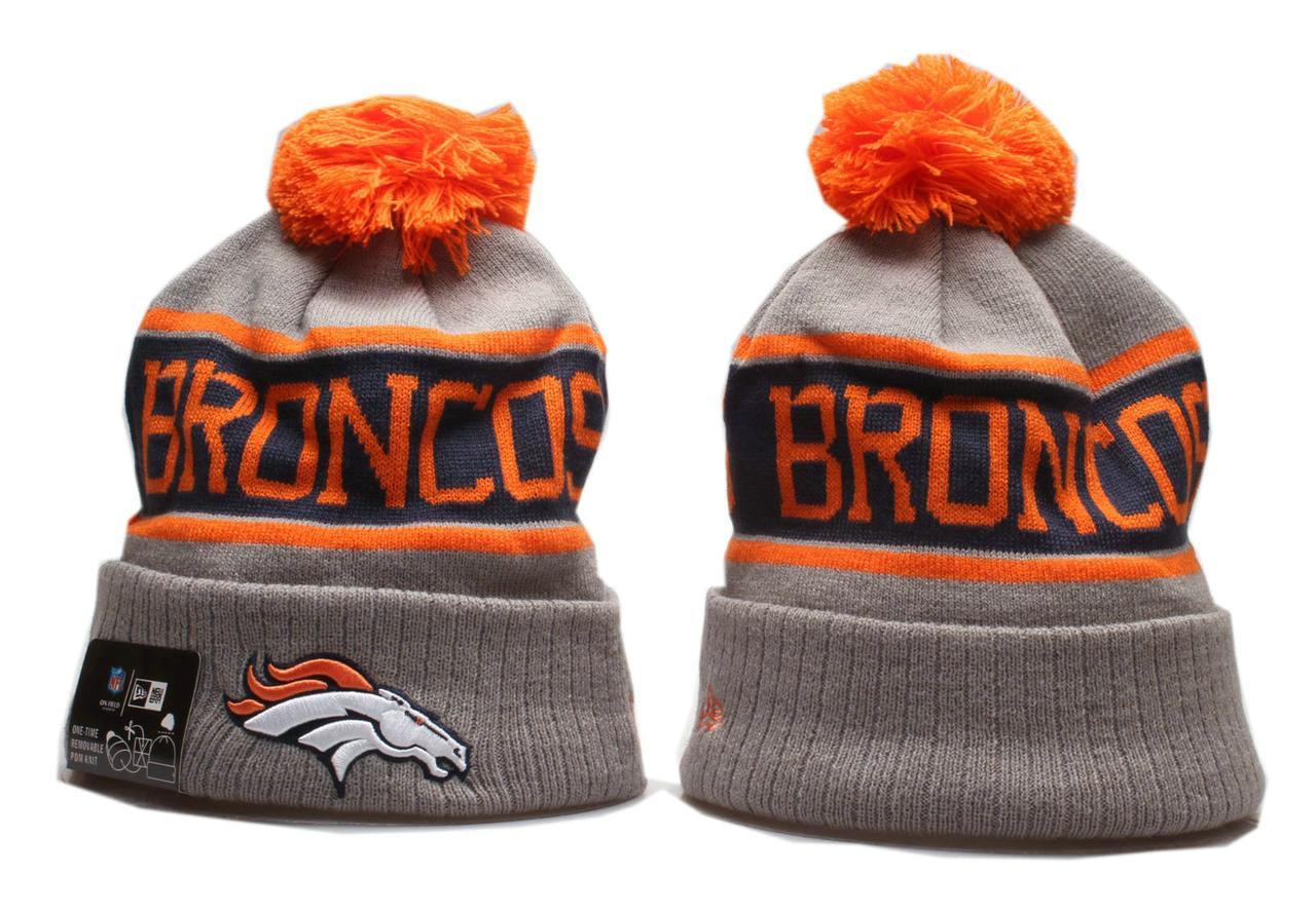 Шапка зимняя Denver Broncos / SPK-315 (Реплика)
