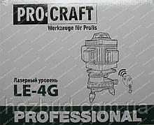 Лазерный уровень Procraft LE-4G (зеленые линии)