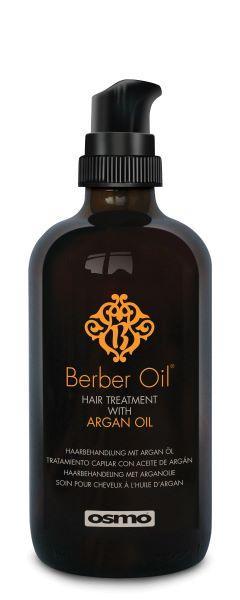 Питательное восстанавливающее средство для всех типов волос. Osmo berber oil hair treatment 100 ml.