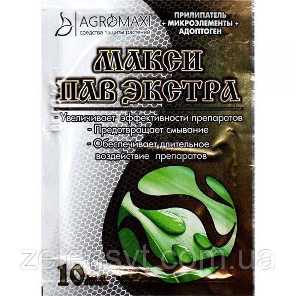 """Прилипач для фунгіцидів, гербіцидів, інсектицидів """"МаксиПав"""" 1 л від Agromaxi (оригінал)"""