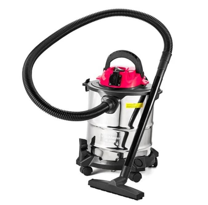 Пылесос для влажной и сухой уборки BauMaster VC-7220BE ✔ 1.3 к Вт ✔ 20 л