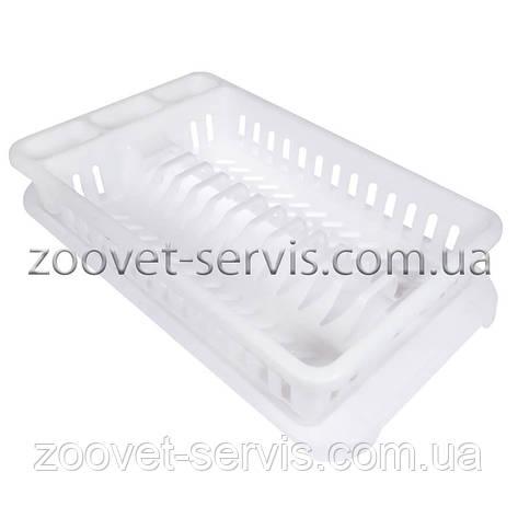Сушилка для тарелок, посуды пластиковая (на 12 тарелок), фото 2